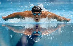 Michael Phelps Swimming and Gym Workout, Sets and Diet Plan