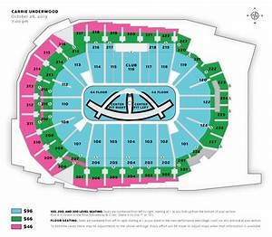 Carrie Underwood Wells Fargo Seating Chart Carrie Underwood Iowa Events Center
