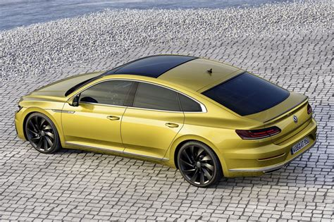 volkswagen arteon vw arteon revealed in full 2017 39 s passat cc by car magazine
