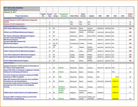 11 Excel Spreadsheet Templates For Tracking Lease Template