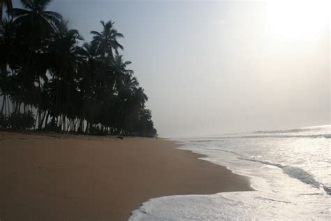 Ghana Beaches From Cape Coast West