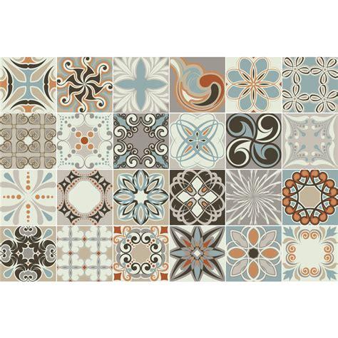 stickers carrelage carreaux de ciment 24 stickers carreaux de ciment rumba cuisine carrelages ambiance sticker