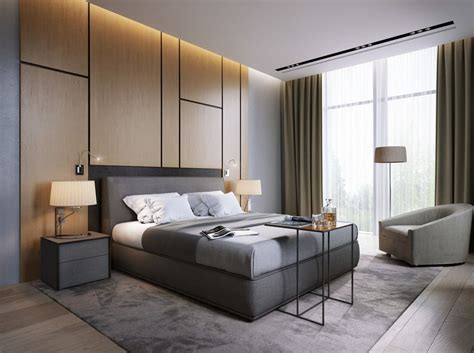 Minotti  Grey Bedroom Design For More Inspirations