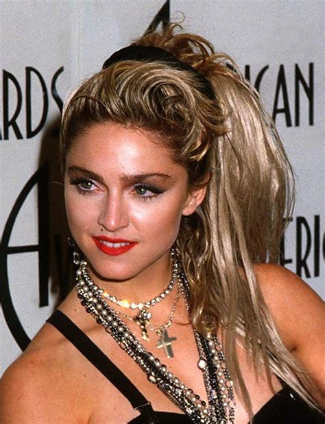 Madonna 80s Hairstyles by Madonna S Most Memorable Hairstyles From The Years