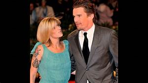 Ethan Hawke and his wife Ryan Shawhughes and Their ...