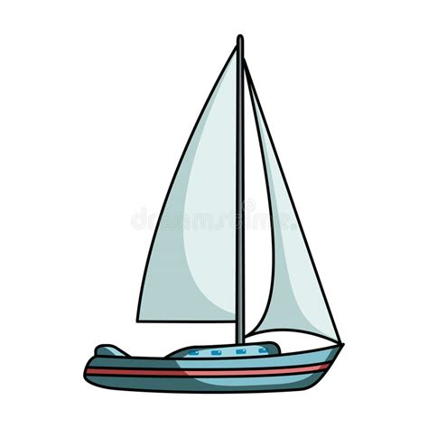 Zeilboot Transport by Sailboat For Sailing Boat To Compete In Sailing Ship And