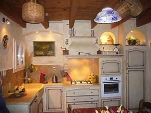 Cuisiniste Saint Etienne : deco mas provencal decoration interieur mas provencal ~ Premium-room.com Idées de Décoration