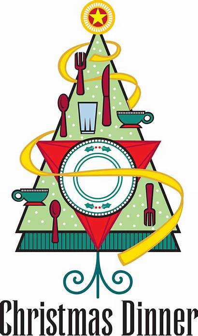 Christmas Clipart Dinner Church Clip Religious Luncheon