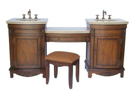 Sink Vanity With Dressing Table by Bathroom Vanities With Makeup Table With