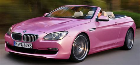pink convertible cars pink bmw car pictures images â super pink beamer