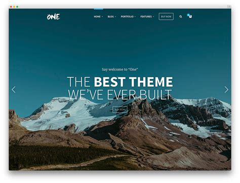 One Page Theme 42 Best One Page Themes 2017 Colorlib