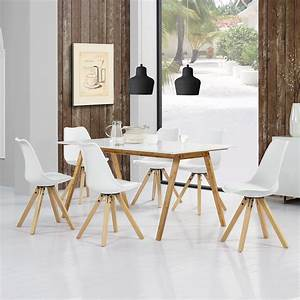 Esszimmertisch Mit Stuehlen : esstisch bambus wei mit 6 st hlen real ~ Frokenaadalensverden.com Haus und Dekorationen