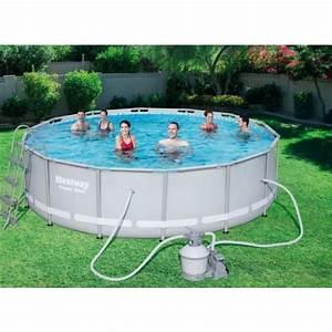Garten Pool Bestway : bestway 56263 frame pool stahlrahmenbecken set 427 x 122 cm mit filterpumpe mit zubeh r garten ~ Frokenaadalensverden.com Haus und Dekorationen