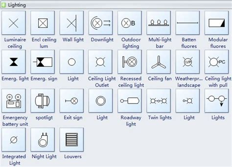 reflected ceiling plan symbols lighting   ceiling