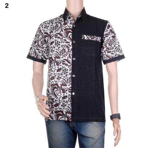 jual baju batik pria kemeja batik hem batik kombinasi prakarsa bisa seragam di lapak jogja
