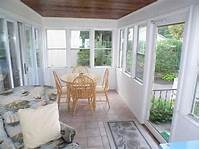 inspiring enclosed patio design ideas Outdoor Ideas: Enclosed Porch Design White, outdoor patio ideas, back porch design ...