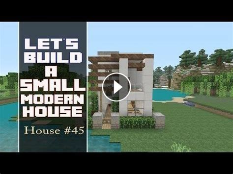 lets build   lot modern house  minecraft house