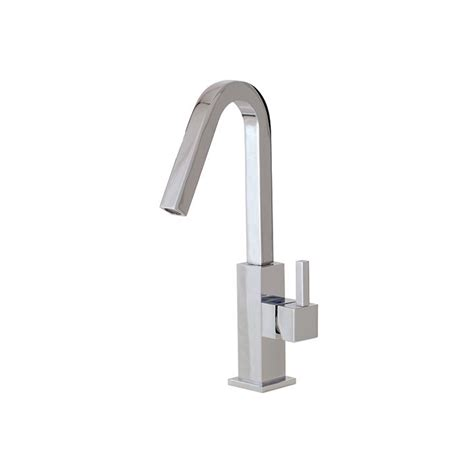 Aquabrass X7614 Xsquare Single Hole Lavatory Faucet