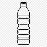 Bottle Water Plastic Clipart Transparent Drawing Bottles Plastica Colorare Bottiglia Coloring Botol Disegni Plastik Disegno Clip Botellas Empty Dibujos Bottiglie sketch template