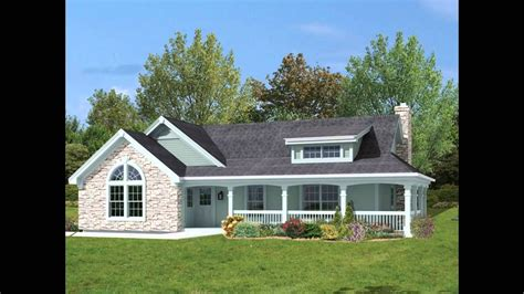 small house plans with large porches
