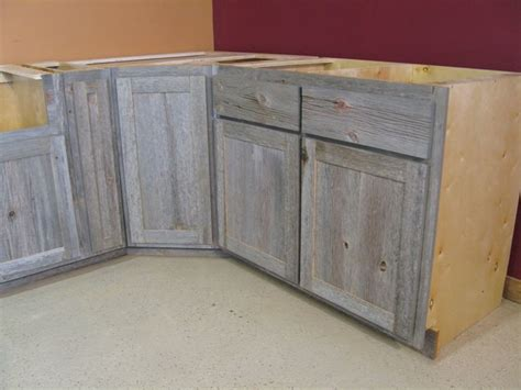 gray wood kitchen cabinets weathered gray barn wood kitchen island paired with cream