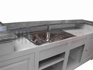comptoir bar sur mesure avec integration biere With meuble comptoir bar professionnel