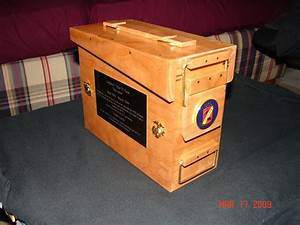 Ammo can - by M1ni0n @ LumberJocks com ~ woodworking community