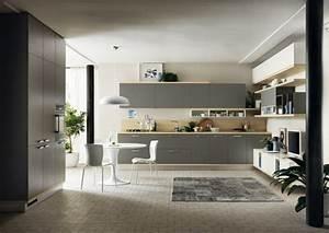 Idee deco cuisine grise pour une ambiance harmonieuse for Idee deco cuisine avec mobilier de boutique
