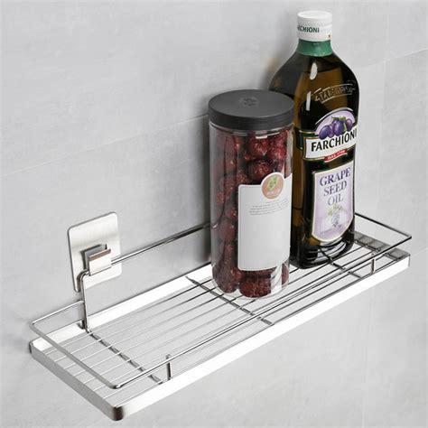 Kitchen Seasoning Rack by Stainless Steel Free Punching Kitchen Racks Seasoning Rack