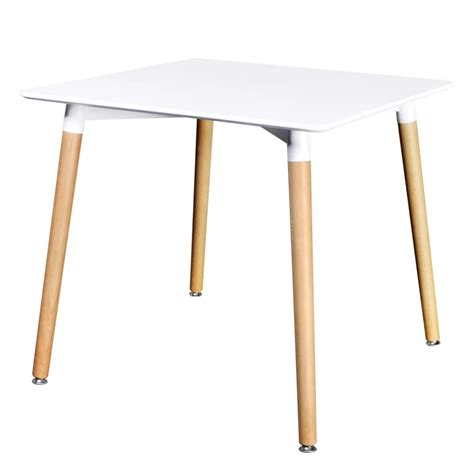 New Matte White Square Dining Table 3 Models Selectable