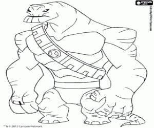 Ben 10 Coloring Page Sanfranciscolife