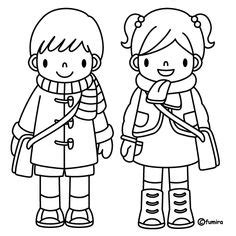 people  places coloring pages boy  girl coloring