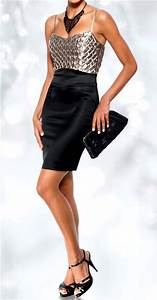 Cocktail Nouvel An : robe femme de soiree cocktail tailleur courte argent noir ~ Nature-et-papiers.com Idées de Décoration
