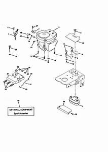 Engine Diagram  U0026 Parts List For Model 917270821 Craftsman