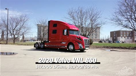 volvo vnl  lone mountain truck leasing youtube