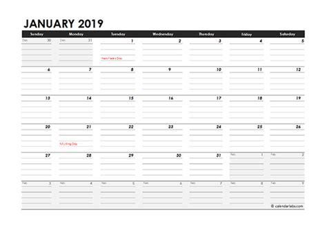 editable  monthly calendar excel template