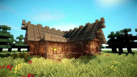 minecraft artisan  rustic cottage youtube
