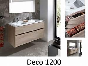 meubles lave mains robinetteries meuble sdb meuble de With porte de douche coulissante avec meuble salle de bain 120 cm double vasque ceramique