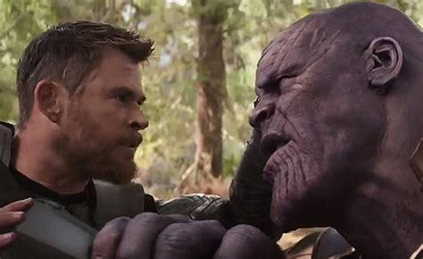 thor didnt   thanos head  avengers infinity