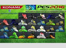 Megapack PES 2016 Boots by Oxarapesedit PES Patch