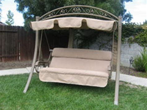 canap swing costco garden swing seat replacements discount canopy