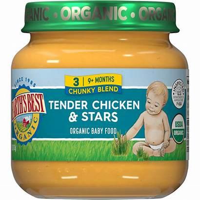 Jars Stage Months Organic Chicken Tender Stars