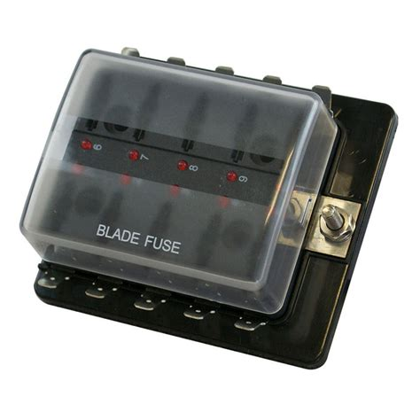 Fuse Box For Kit Cabin by 10 Way Fuse Box With Led Indicators