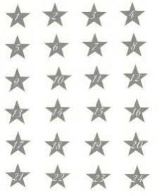 Adventskalender Zahlen Mathe : adventskalender zahlen zum ausdrucken rosa sterne vorlage pdf vorlagen checklisten auf xobbu ~ Indierocktalk.com Haus und Dekorationen