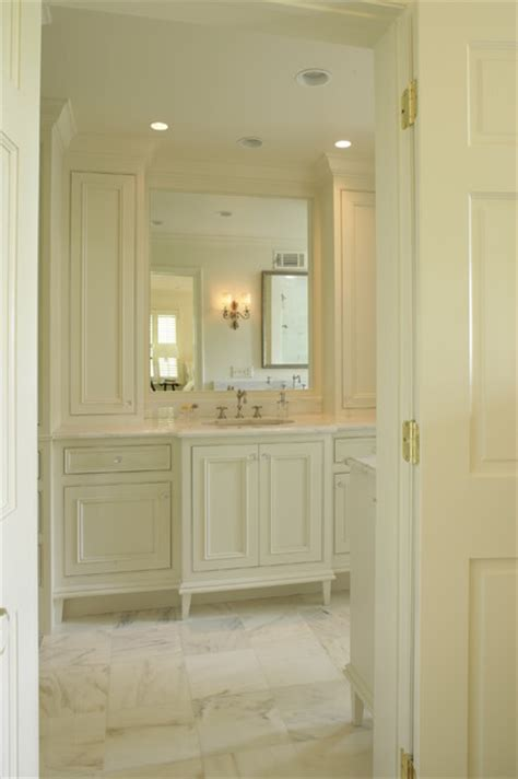 Luxe Designer Corner Bathroom Cabinet by Luxe Traditional Bathroom Birmingham By