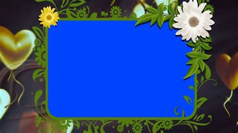 background animated wedding frame video loop