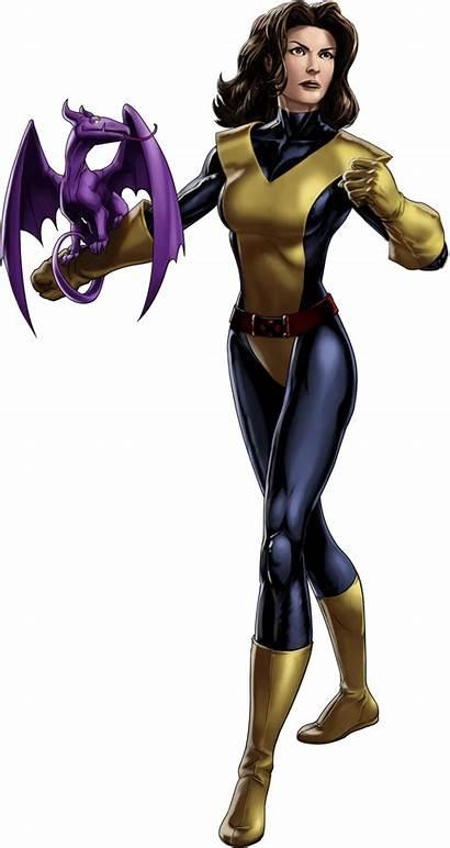 Pryde Kitty Lockheed Marvel Comic Avengers Alliance