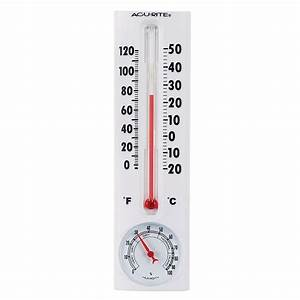 AcuRite Thermometer with Humidity-00339HDSBA2 - The Home Depot