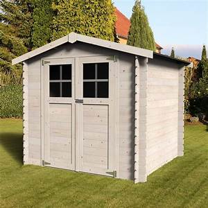 petit abri de jardin bois 490 m2 ep19 mm milovic With petit abris de jardin