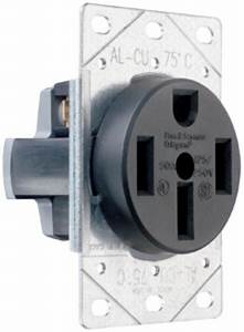 50a Flush Mount Power Outlet Wiring Diagram